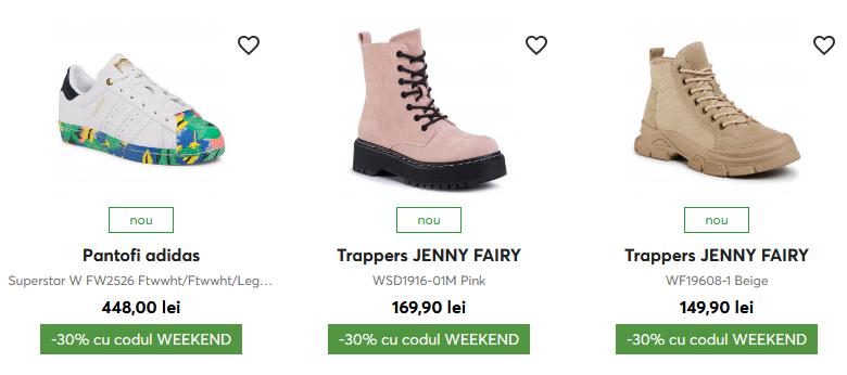 Epantofi.ro Weekend Deals - până la -30% la noutățile selectate!