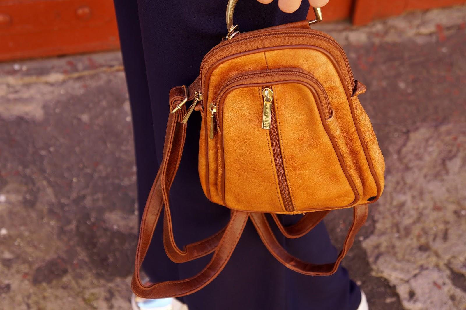 Plecak valentino brązowy