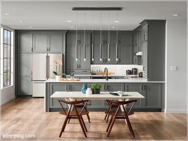 مطابخ امريكانى مفتوح على الريسبشن 4   American kitchens Opened To Reception 4