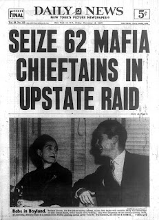 La reunión mafiosa de Apalachin en la prensa