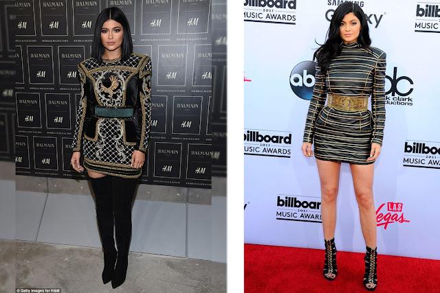 Kylie Jenner vestido joya