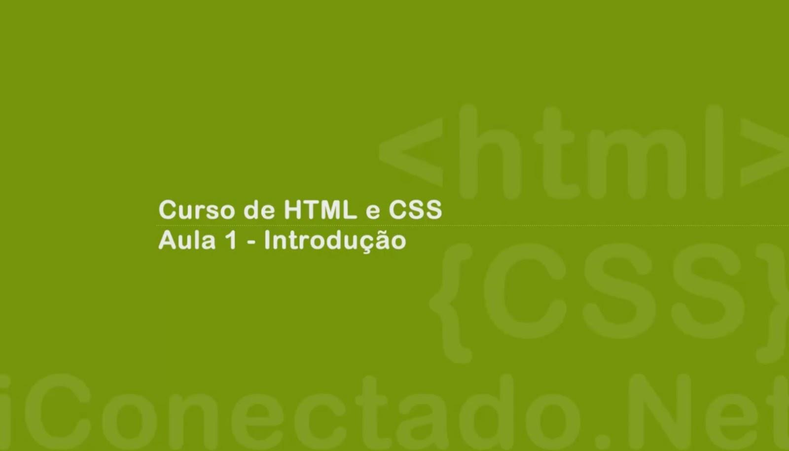 CLICK AQUI  Curso HTML e CSS 1