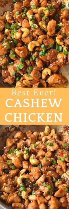 Sort out dinner/lunch with this amazing Cashew Chicken Stir Fry! So easy to put together,amazing sauce mix with roasted cashews,makes this easy chicken stir-fry the BEST and totally under 30 mins!