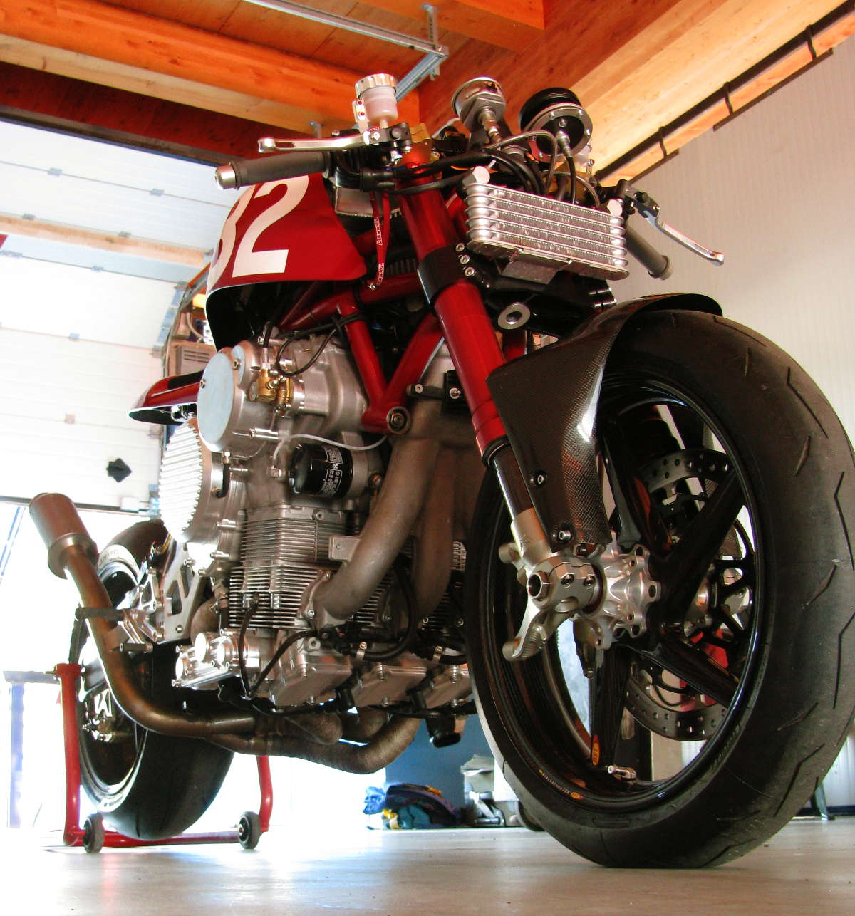 Nembo Motorcycle Prototype Inverted Triple 002