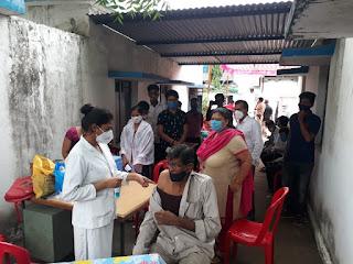 टीकाकरण को लेकर व्यापक उत्साह, आज 17 हजार से अधिक लोगो ने लगवाया टिका