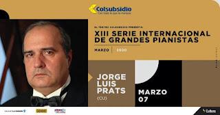 Jorge Luis Prats | Serie Internacional de Grandes Pianistas No. 13