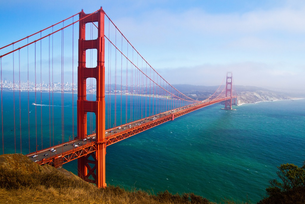 golden gate bridge history is fascinating and golden gate bridge facts make it one of the places to visit in america
