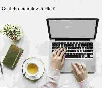 Captcha meaning hindi - full inforamation