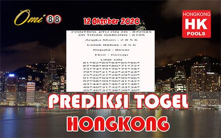 Prediksi Togel Omi88 Hongkong Senin 12 Oktober 2020