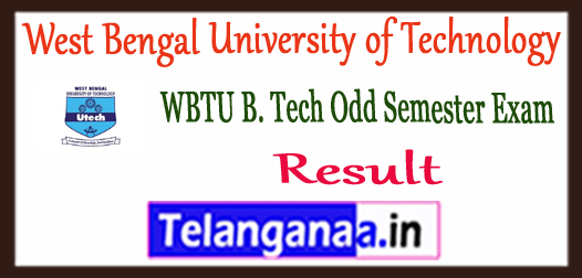 WBUT West Bengal University of Technology Results 2018