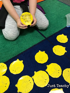 Gobble Gobble Sight Word Game