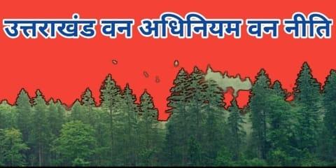 उत्तराखंड वन अधिनियम   वन नीति, वन आंदोलन   वन्य जीव - Forest Act And Regulations