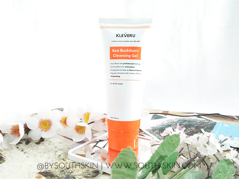 review-kleveru-sea-buckthorn-cleansing-gel-southskin