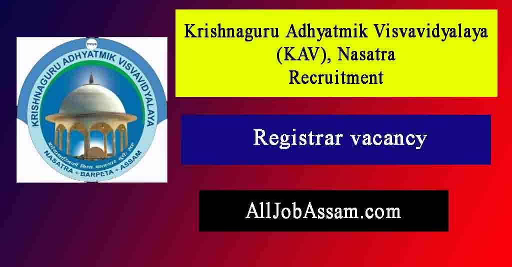 KAV Nasatra, Barpeta Recruitment 2021