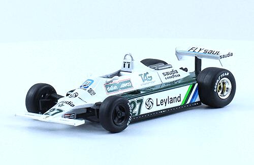 Williams FW07B 1980 Alan Jones 1:43 Formula 1 the car collection salvat