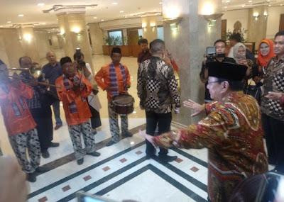 Prabowo Subianto, Capres Nomor Urut 02 Hadiri Acara Silaturahmi Kebangsaan Di Jakarta