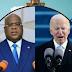 Joe Biden à Tshisekedi : « Nous accueillons avec joie votre vision à mettre en oeuvre des réformes qui reflètent la volonté du peuple congolais »