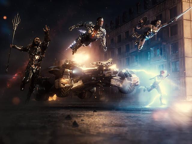 La Liga de la Justicia. Fotograma de Warner Bros.