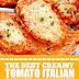 The Best Creamy Tomato Italian Parmesan Chicken #chickenrecipes #parmesanchicken