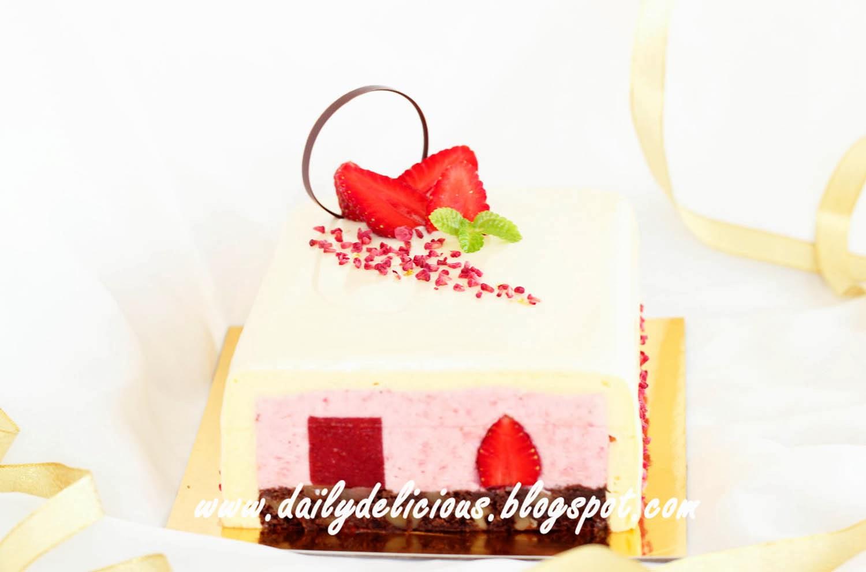Rectangular Vanilla Cake Recipe