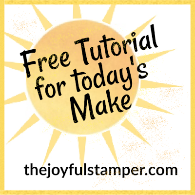 free stamping tutorial, how to make a card, how to stamp, stampin' up!, nicole steele, the joyful stamper, independent stampin' up! demonstrator