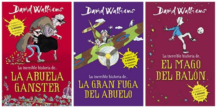 Libro infantil y juvenil divertido La increíble historia de... David Walliams
