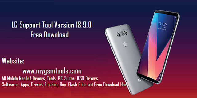 LG Support Tool 18.9.0 (Updated Version) software for Windows Free Download