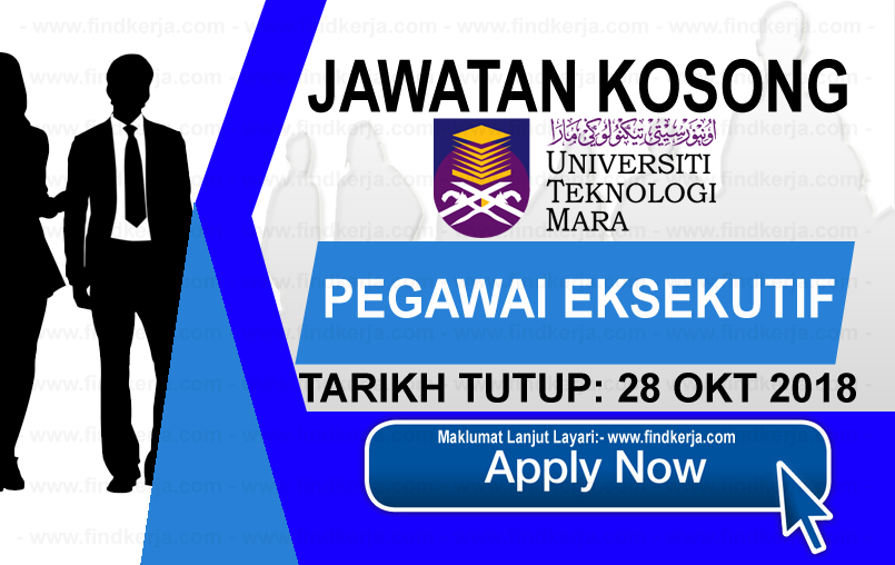 Jawatan Kerja Kosong UiTM - Universiti Teknologi MARA logo www.ohjob.info www.findkerja.com oktober 2018