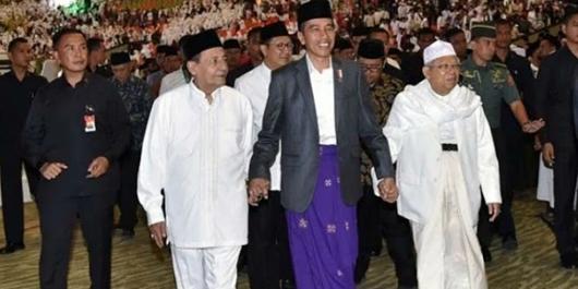 Quick Count Sementara CSIS-Cyrus: Jokowi 56,5% Prabowo 43,5%