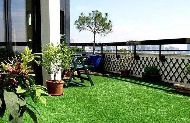 How to Get Started With a Balcony Garden with Artificial Grass