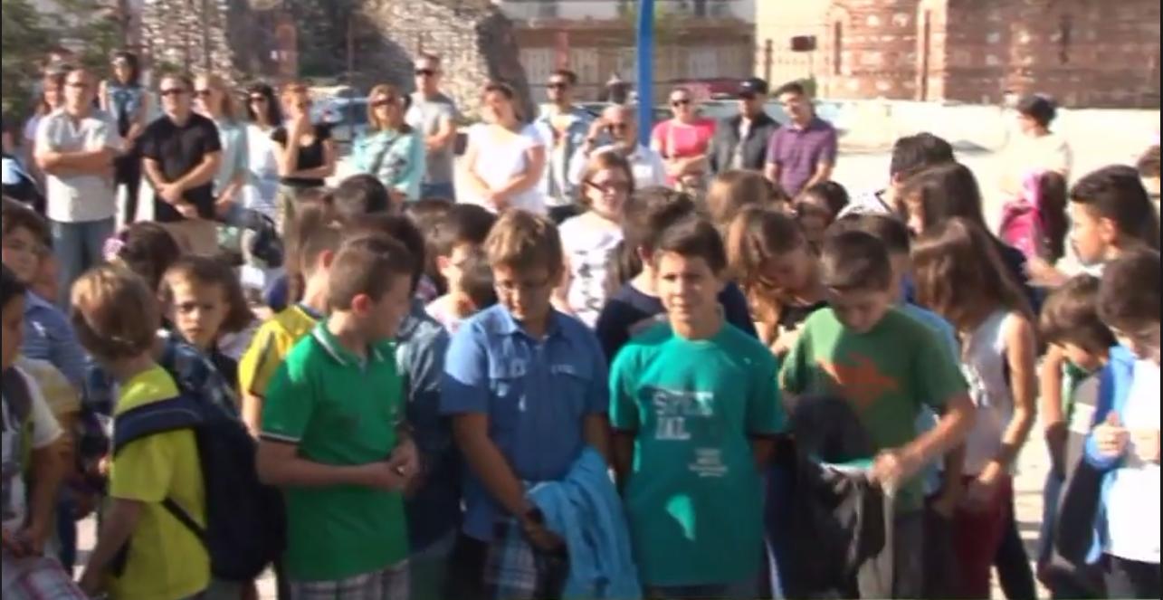 Αγιασμός σε σχολεία της Καστοριάς (βίντεο)