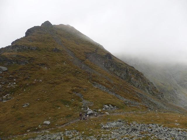 Karpaty zakrywają się mgłą