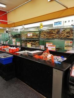 サンノゼ のアジア食品店内部の様子