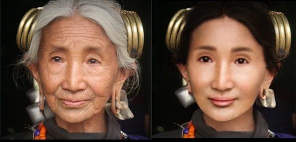 VIDEO: Editan Level Dewa! Master Photoshop Ini Sulap Nenek-Nenek Jadi Gadis Cantik