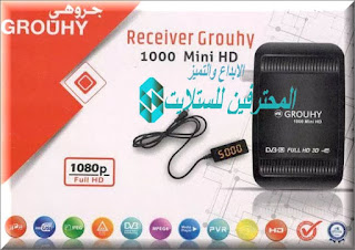 احدث ملف قنوات GROUHY 1000 MINI HD