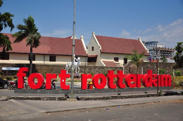 Fort Rotterdam Peninggalan Kerajaan Gowa Tallo di Sulawesi Selatan
