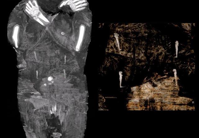 archaiologoi-anakalypsan-tin-proti-egkyo-aigyptiaki-moumia
