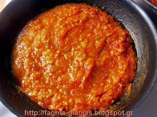 Ντομάτες με αυγά και φέτα  (στραπατσάδα, καγιανάς) - από «Τα φαγητά της γιαγιάς»
