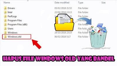Hapus, File, Windows, Old, Di, Windows, 10, 8, 7, Dengan, Software, Tanpa Software, menghilangkan, clean, master, yang, bandel,