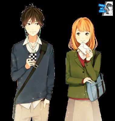 Resultado de imagen para orange anime render