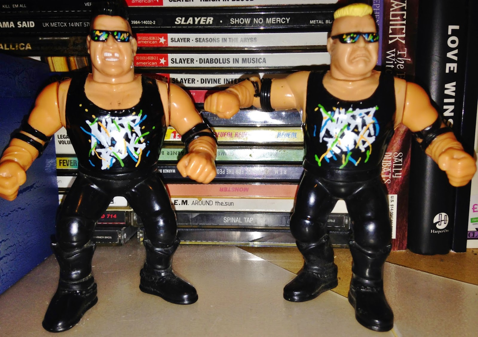 WWF Hasbro Figures - The Nasty Boys