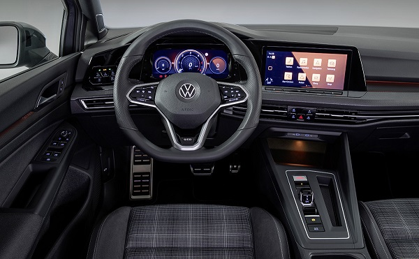Interior Volkswagen Golf GTD 2020