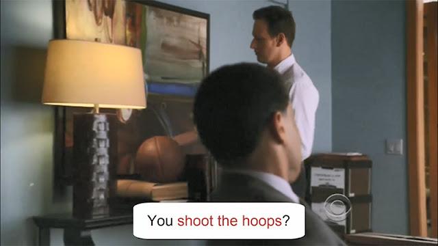 Idiom Shoot the Hoops
