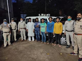 चाकू से प्राणघातक हमला कर की हत्या, 24 घंटे के अंदर मुख्य आरोपी सहित सभी 6 आरोपी पुलिस गिरफ्त में