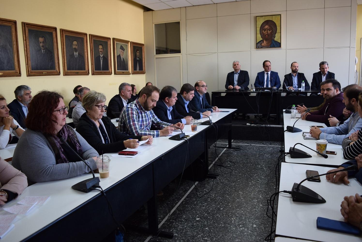Σύσκεψη στο Δήμο Καρδίτσας για την αναστολή λειτουργίας του τμήματος πρώιμης παιδικής ηλικίας