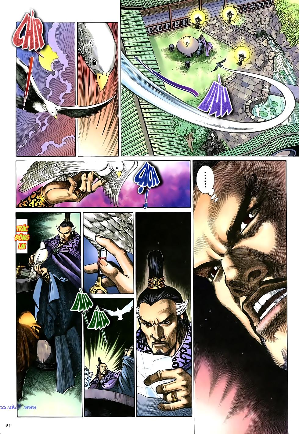 Anh hùng vô lệ Chap 16: Kiếm túy sư cuồng bất lưu đấu  trang 19