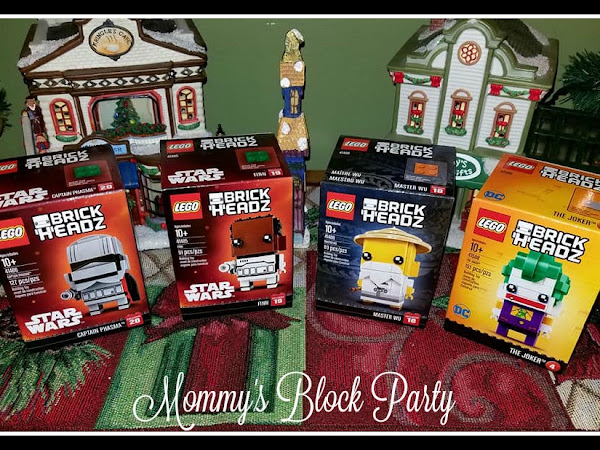 All New LEGO BrickHeadz Mini Gifts and Stocking Stuffers #MBPHGG17