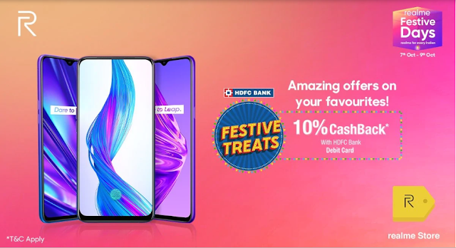 Discounts are available on other Realme phones including Realme 5 and Realme 5 Pro
