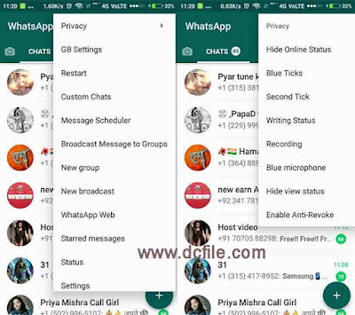 Download GBWhatsapp 6.89 with latest cool Sticker | GBWhatsapp Download link