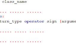 Mengapa Operator overloading digunakan dalam pemrograman C++ ?